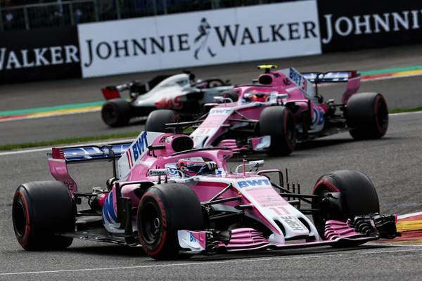 Force India Racing Belgium 2018